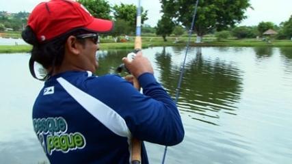 Isca natural em pescaria variada