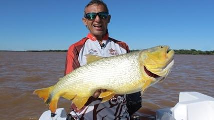 Dourado e jaú com isca natural em Ituzaingó