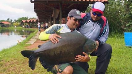 Diversão e muitas fisgadas no Uni Pesca Esportiva