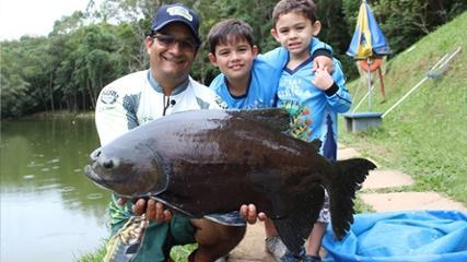 Pesca variada na Estância Pesqueira Campos