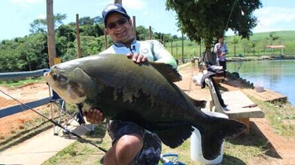 Pescaria em equipe no Boitupesca