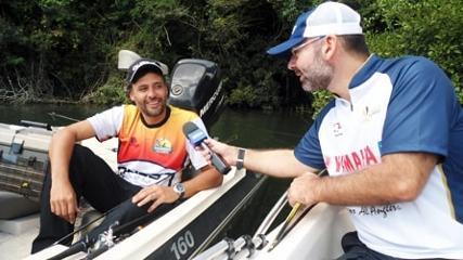 A primeira etapa do Santiago Pesca Esportiva