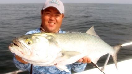 Saltwater - Pescaria no Parcel Dom Pedro