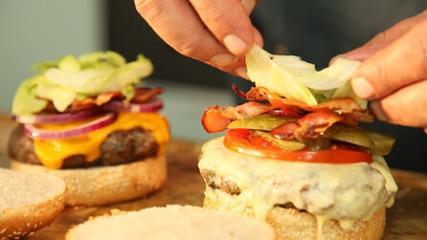A preferência mundial: o hambúrguer