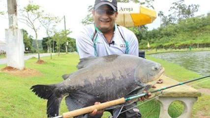 Os briguentos do pesqueiro Arujá
