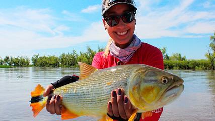 Diversão e boa pesca na pousada Aventura En Esquina