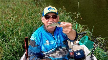 Pescando os lambaris serranos