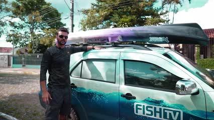 Como transportar o caiaque no carro