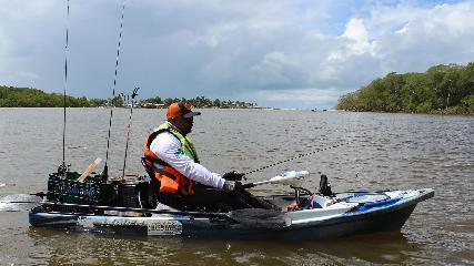 Pesca esportiva de robalos em Alcobaça