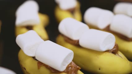 Banana com Marshmallow