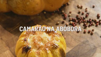 Camarão na Abóbora