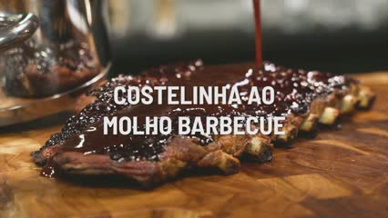 Costelinha ao Molho Barbecue