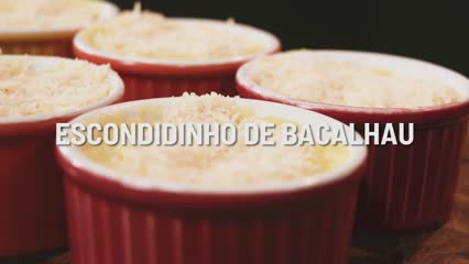 Escondidinho de Bacalhau