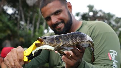 Pescando traíras em Curuçá