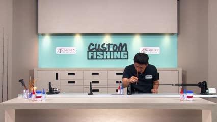 Customização de vara com carretilha para pesca de robalo