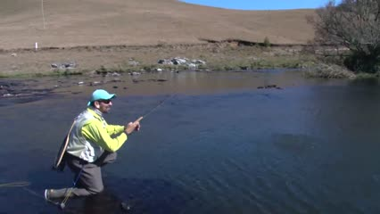 Trutas no Fly Fishing