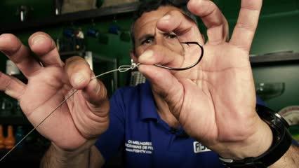 Empate rápido de aço para pesca de dourados