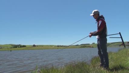 Pescaria desembarcada com rubber jig