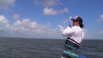 A emocionante pescaria de Primeira Cruz