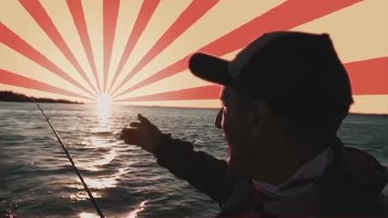 Pescaria de amigos no Rio Miranda