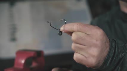 Montagem de chumbo fácil para lastrear o anzol