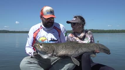Pescaria de trairões com a Pousada Juruena