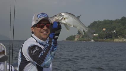 Tradicional pescaria de robalo