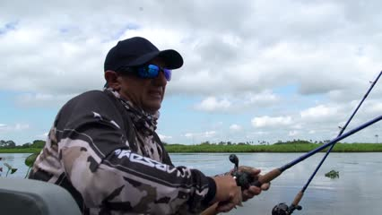 Pescaria de cacharas no Pantanal