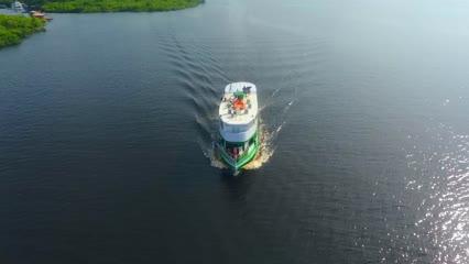 Expedição com o Barco Hotel Amazônia Fishing Ecotur