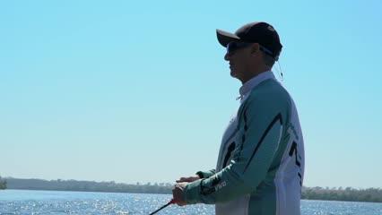 Pescando nas águas do Rio Grande