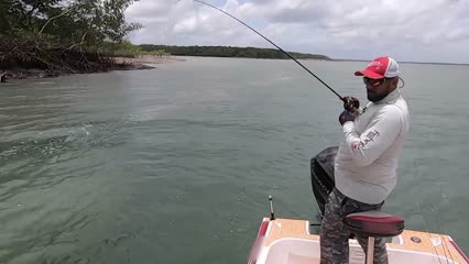 Pescaria em Mãe Grande de Curuçá