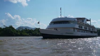 Destinos - Imersão no Pantanal com o Barco Hotel Comodoro