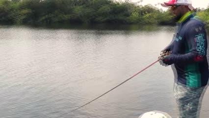 Capturando os troféus do Rio Acari
