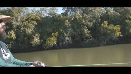 Capturando pirarucus com a Pousada Asa Branca