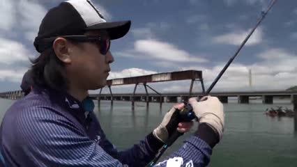 Pescaria de corvinas em Laguna