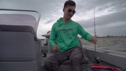 Pescaria de robalos em Iguape/SP