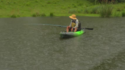 Pescaria no lago da AGAPIA II