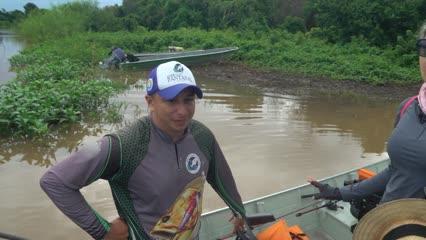 Pescaria e Ecoturismo com a Pousada Reserva do Pantanal
