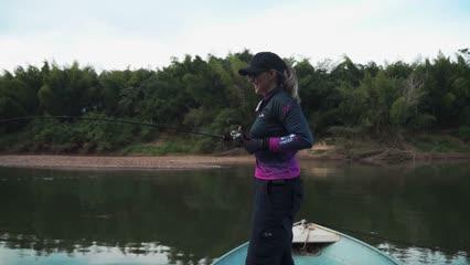 Elas na Pesca - Pescaria no Hotel Fazenda Cabana do Pescador