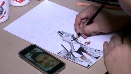 Alagoano Faz Sucesso Com Desenhos Realistas De ídolos Do