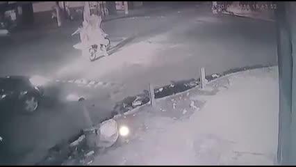 Câmera registra assassinato de presidente de torcida organizada em Ponta Grossa