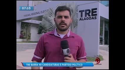 TRE barrou 46 candidaturas e um partido político