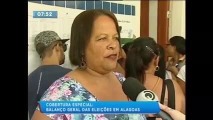 A votação na parte baixa de Maceió foi marcada por muitas filas