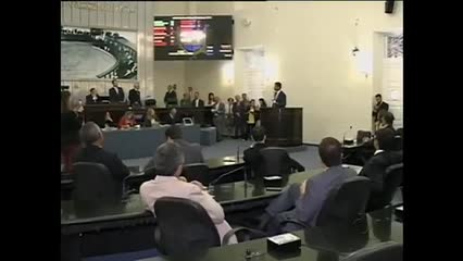 Poucos deputados compareceram na sessão desta terça-feira na Assembleia Legislativa