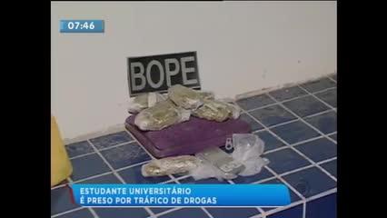 Estudante universitário foi preso ontem próximo ao Terminal Rodoviário João Paulo II