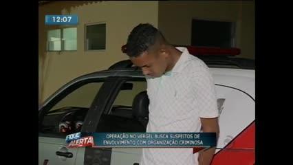 Jovem foi preso durante operação policial no Vergel do Lago