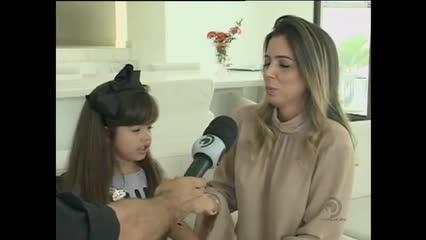Atriz mirim alagoana se destaca em novela na Record TV