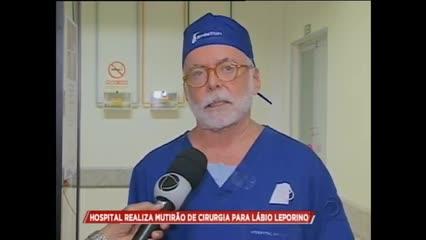 Mutirão realiza cirurgias de correção de Lábio Leporino