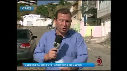 Um casal foi assassinado no bairro do Poço