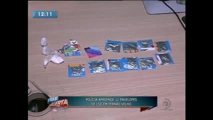 Polícia apreendeu 12 envelopes de LSD em Fernão Velho